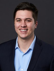 Cole Moreano, property broker for commercial office space at Centerpoint IV