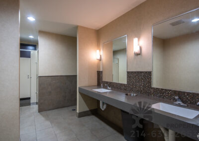 Centre at Brookhollow renovated restrooms